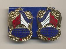 Pair Corps Of Engineers Command Right and Left Unit Crest Essayons N C Meyer DUI