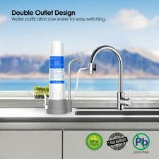 4Stage Countertop Water Purifier Filter Drinking Water Filtration System Cleaner