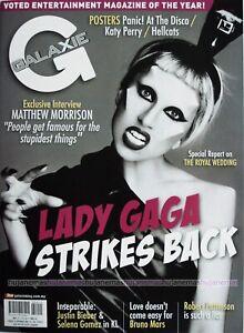 GALAXY 2011 MALAYSIA Entertainment Magazine LADY GAGA COVER RARE NEW