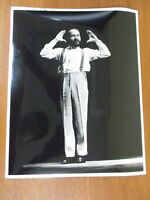 Vintage Glossy Press Photo National Theatre of the Deaf Performer Will Conley