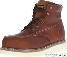"""New Wolverine Men'S Moc-Toe Steel-Toe Eh 6"""" Work Boot Wedge Safety Sz 9"""