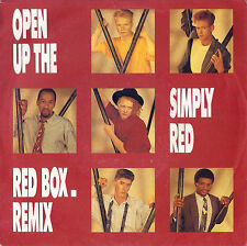 DISCO 45 giri Simply Red - Open Up The Red Box / Look At You Now
