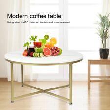Design Couchtisch Wohnzimmer Tisch Kaffeetisch Runder Beistelltisch 90x48 cm