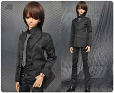 1/3 BJD 70cm male Doll Stripes Suit outfit set clothes Luts SSDF dollfie ship US