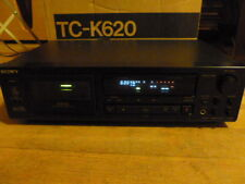 Sony TC-K620 Studio Quality Audiophile Cassette Player Deck w/ Box AS-IS