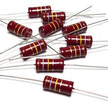 Resistenza 10x Beyschlag 180 K, 2w, F. TUBI amplificatore/amplifier TUBE, NOS