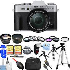 Fujifilm X-T20 Mirrorless Digital Camera W/ 16-50mm Lens (Silver) MEGA KIT NEW!!
