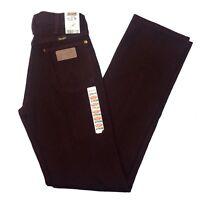New Old Stock Vintage Wrangler Black Firewash Jeans 13MWZ 27 x 36