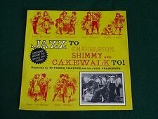 FRANK TRAINER & HIS JAZZ PREACHERS / SHIMMY & CAKEWALK #WGE-1312 (IMPORT)