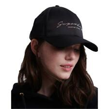 Superdry NEW Women's Portland Cap - Black BNWT