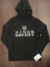 Los Angeles Kings NEW Youth Medium Performance Hooded Sweatshirt NHL Hockey LA