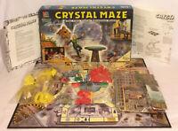 Crystal Maze Board Game 1993 MB Milton Bradley Vintage 100% Complete