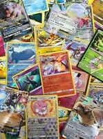Pokemon TCG 50 Card Bundle Lot - Includes COMMON, UNCOMMON, RARE & HOLO