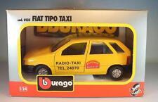 Bburago 1/24 Nr. 0135 Fiat Tipo Limousine Taxi Autoradio Aquila 37 OVP #2993