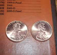 2006 P & D Uncirculated Lincoln Pennies 1 Cent