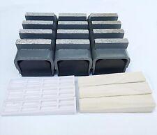 New 6PK 30/40 Med Bond Diamond Grinding Blocks For EDCO,STOW,HUSQ.&Gen. Grinders