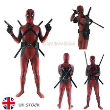 Cosplay Party Costume for Adult &Kids Lycra Spandex Full Body Deadpool Avengers