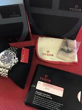 Rolex Tudor Tiger Prince Date Hydronaut Stainless Steel - Blue Dial - Ref. 89190