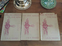 TOLKIEN: THE LORD OF THE RINGS  * RARE 1960 READERS UNION HB EDITION *