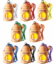 SPECIAL OFFER 8 Pieces Air Freshener - Areon Fresco SCENT TREE Car Selection