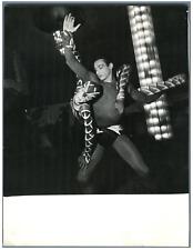 France, Anouk Ferjac et Chr. Arnaud  Vintage silver print Tirage argentique