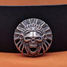50X 19*17MM Brass Southeast Ethnic Diamond Floral LEATHERCRAFT Belt Bag CONCHOS
