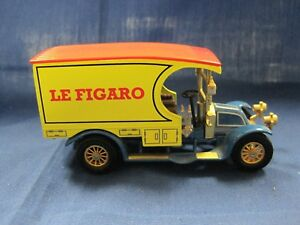 """Matchbox Collectibles YPP01 1910 Renault AG  """"Le Figaro"""" The Power of the Press"""