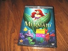 The Little Mermaid Disney (DVD+Digital Copy, 2013,Diamond Edition) NEW Fast Ship