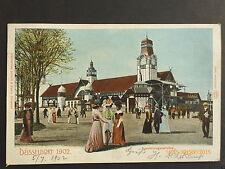 Reklame Ansichtskarten aus Deutschland mit dem Thema Eisenbahn & Bahnhof