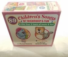 89 CHILDREN'S SONGS OF FRIENDSHIP & FUN MUSIC CDS