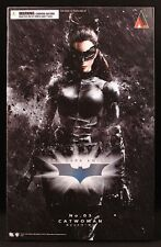 "2013 DC SQUARE ENIX PLAY ARTS BATMAN DARK KNIGHT RISES 03 CATWOMAN 9"" FIGURE MIB"
