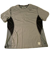 Nike Pro Combat Dri Fit Fitted T Shirt Mens Xxl Vented Short Sleeve