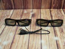 Sony TDG-BR250 Active 3D Glasses Set Of 2 Tested Work