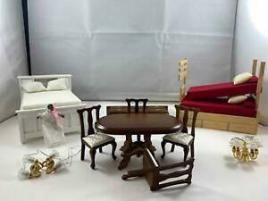 Damaged Dollhouse Furniture And Accessories