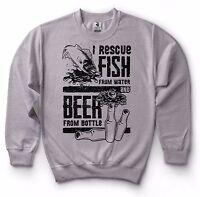Fishing Drinking Sweatshirt Gift For Fisherman Funny Sweater