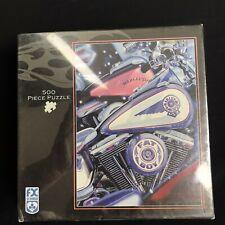 Puzzle Harley-Davidson Fx Schmid 500 Piece Puzzle Fat Boy Motorcycles New
