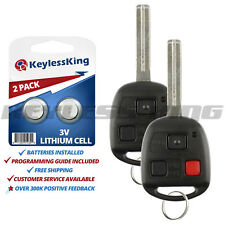 2 New Keyless Entry Remote Car Key Fob for 1999 2000 2001 2002 2003 Lexus RX300