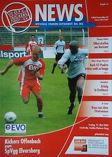 Programm 2003/04 OFC Offenbacher Kickers - SpVgg Elversberg