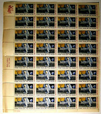 US C76 1st Man on the Moon Stamp Sheet of 32 Must see 51st Anniversary QuickShip