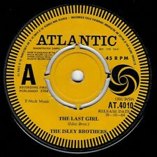 "NORTHERN SOUL - ISLEY BROTHERS - THE LAST GIRL - UK ATLANTIC - DEMO -""HEAR"""