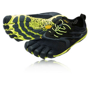 Vibram Mens FiveFingers V-Run Running Shoes Trainers Sneakers Black Sports