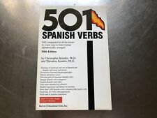 501 Spanish Verbs by Theodore Kendris and Christopher Kendris 2003 Paperback155B