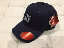 Puma Navy Gray Evercat Clairemont Relaxed Fit Adjustable Curved Bill Cap Hat
