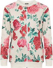 Geblümte Damenjacken & -mäntel aus Polyester