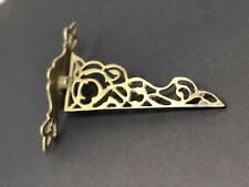 Art Deco Decorative Metal Brass Wall Shelf Support Bracket / Plant Hanger