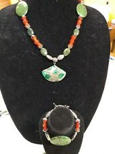"""Tremors Creations """"Hawaiian Islands"""" 2pc necklace and bracelet collection"""