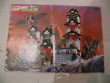 Lego notice  6093 / lego instruction Flying Ninja Fortress
