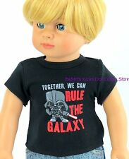 Rule The Galaxy Space Shirt 18 in Boy Doll Clothes Fits American Girl