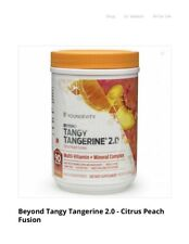 Youngevity Beyond Tangy Tangerine 2.0 Citrus Peach Fusion Vitamin and Mineral