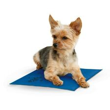K&H Pet Products Coolin Pet Pad Dog Cooling Mat Blue for Hot Weather Inside